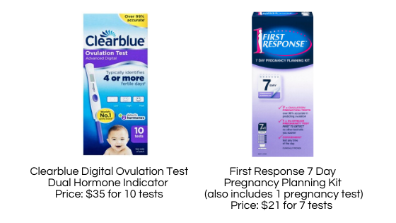 Urine ovulation tests